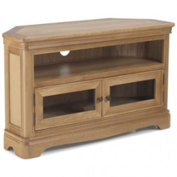 Loraine Natural Oak Living & Dining Corner TV Unit