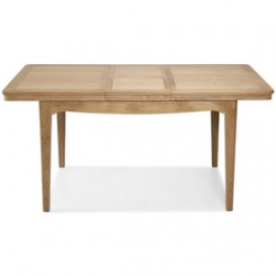 Loraine Natural Oak Living & Dining Ext Dining Table 1250/1650