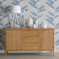 Cadley Oak Large Sideboard