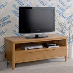 Cadley Oak Plasma TV Unit