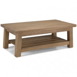 Howland Rough Sawn Oak Large Coffee Table