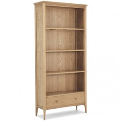 Enfield Oak Large Bookcase