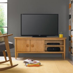 Skioa Oak TV Unit
