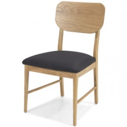 Skioa Oak Dining Chairs - Pair