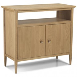Skioa Oak Open Sideboard