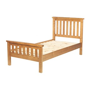 Chunky Pine Single Bed (3')