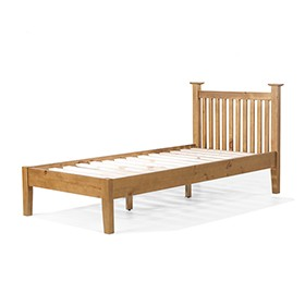Country Pine Single Bed (3')
