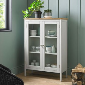 Elstead Painted Glazed Cabinet