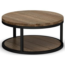 Riverside Industrial Oak Coffee Table