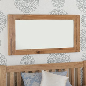 Rustic Oak Wall Mirror