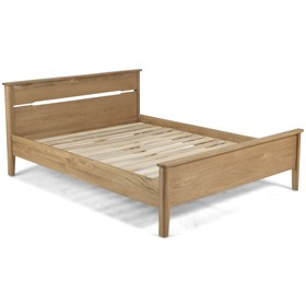 Harkus Oak 4'6''FT Bed Double