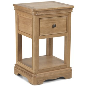 Loraine natural Oak Living & Dining Lamp table