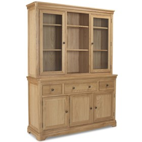 Loraine Natural Oak Living & Dining Large Dresser