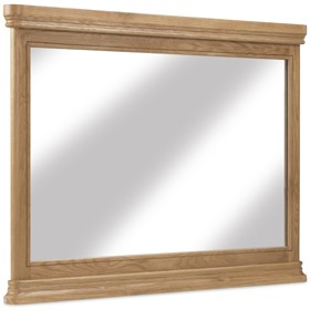 Loraine Natural Oak Bedroom Wall Mirror