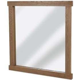 Howland Rough Sawn Oak Mirror