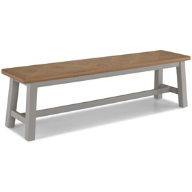 Chaldon Painted Dining Bench