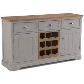 Chaldon Painted Large Sideboard Wine Rack