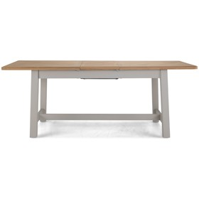 Chaldon Painted Extended Dining Table