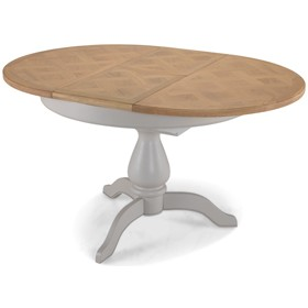 Chaldon Painted Oval Extended Dining Table
