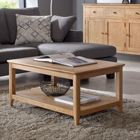 Enfield Oak Large Coffee Table