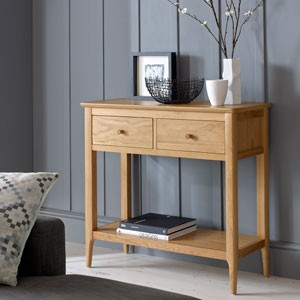 Enfield Oak Console Table