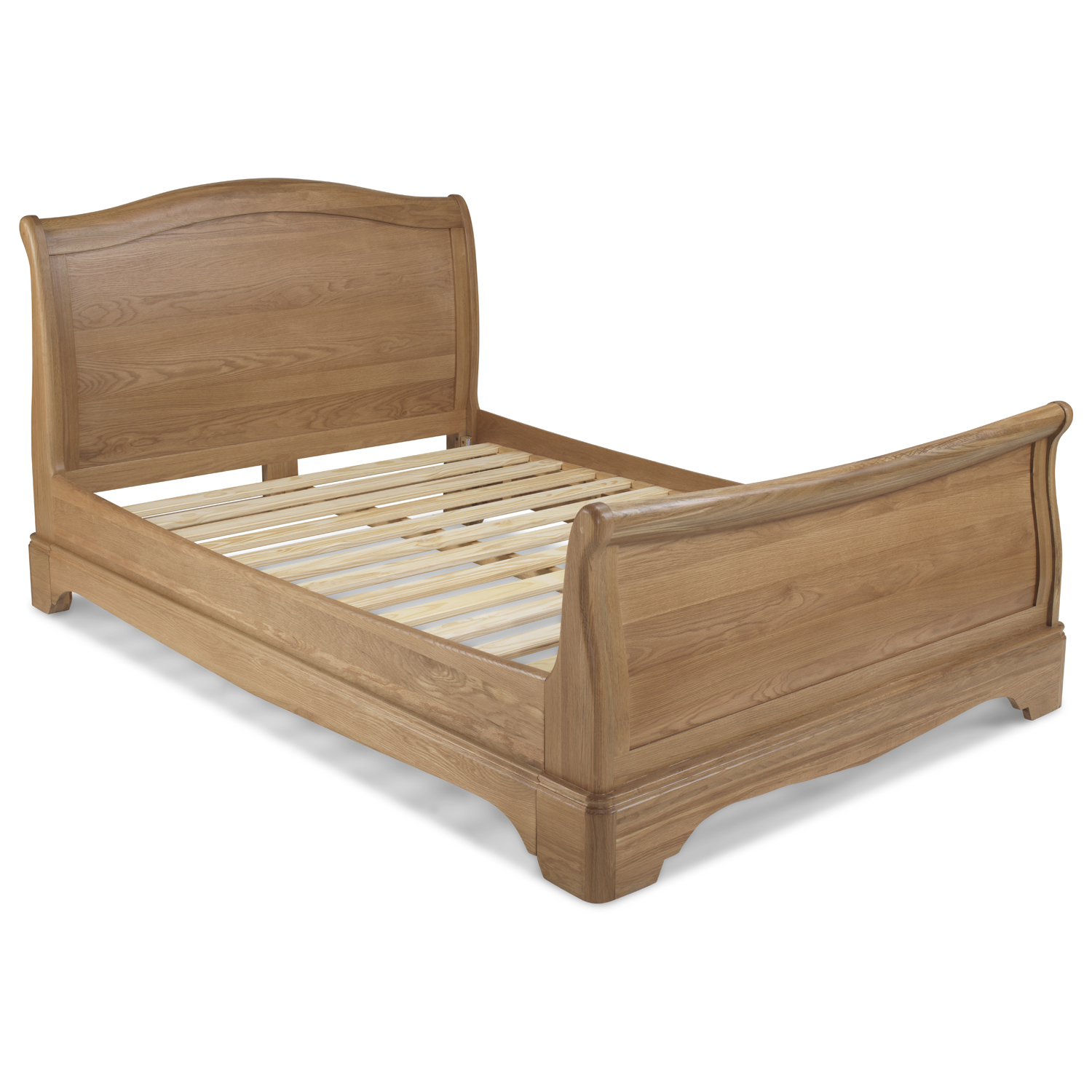 - Loraine Oak Bedroom King Size Bed 5Ft - Quercus Living
